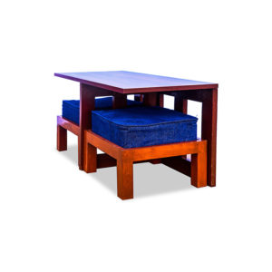 2 Seater Coffee Table on Rent | Side View 1