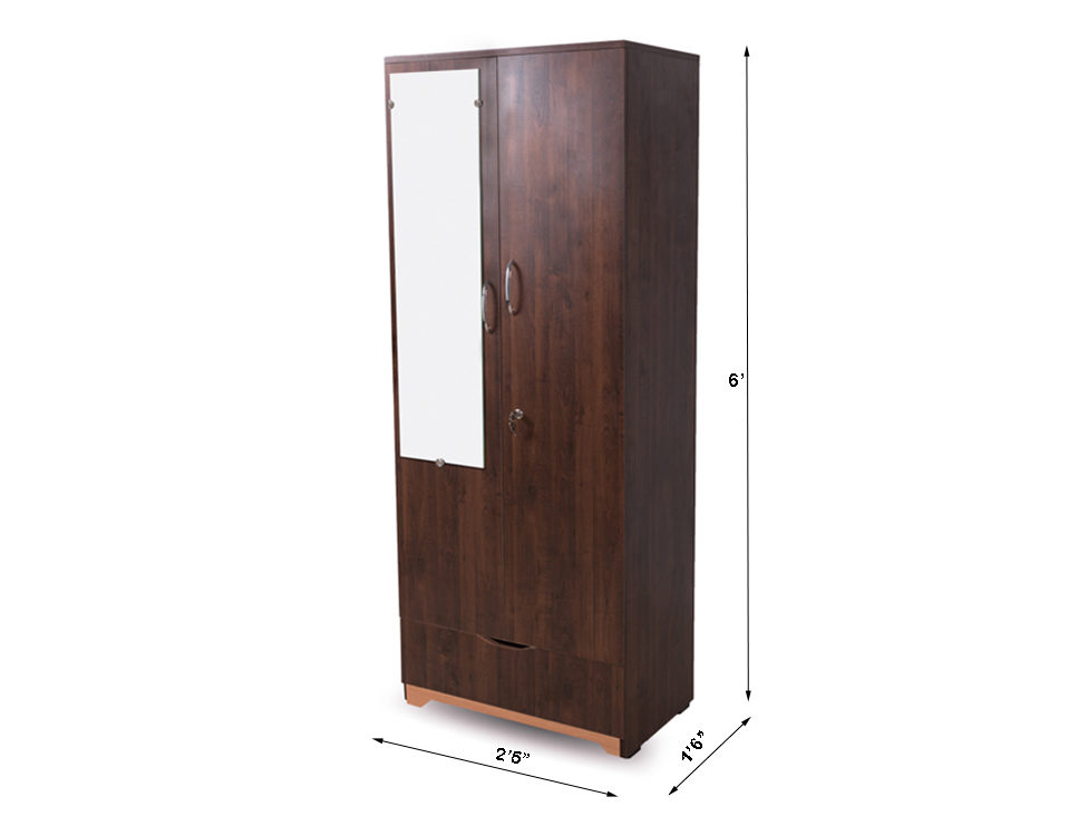 Aura_wardrobe_lite_on_rent_mumbai_hyderabad_rentmacha_dimensions