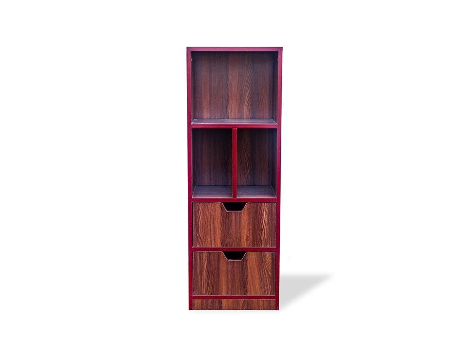 Nerdy Bookshelf Small Front View 1