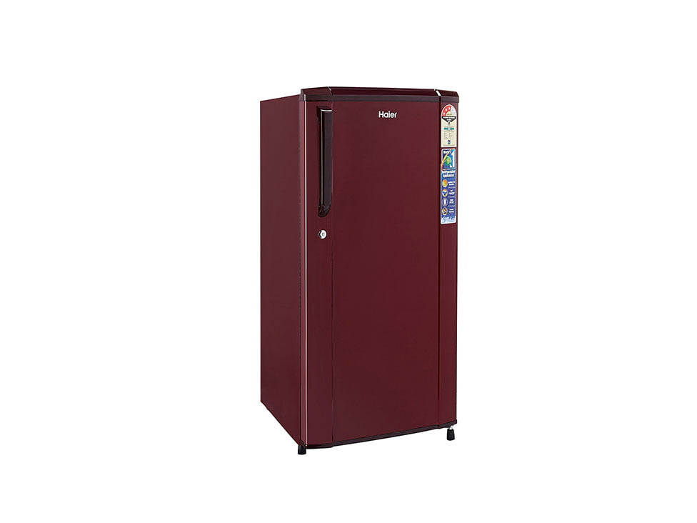 RentMacha | Single Door Fridge Side View 2