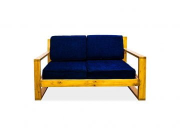 Woody 2 Seater Sofa Front View 1