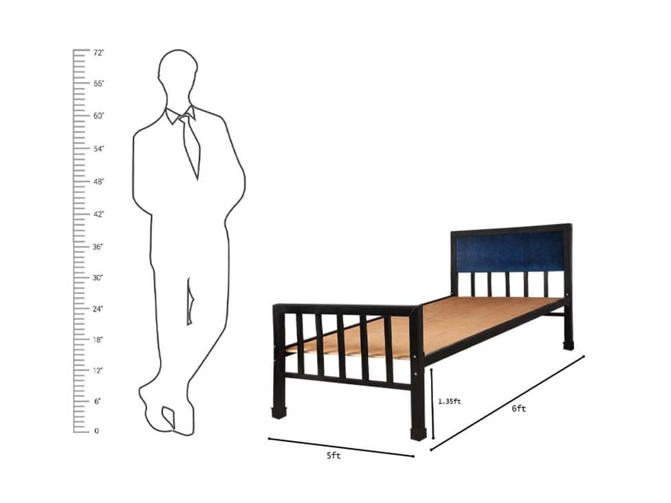 single-metal-bed-prime-on-rent-in-mumbai-chennai-hyderabad-rentmacha-dimension-image