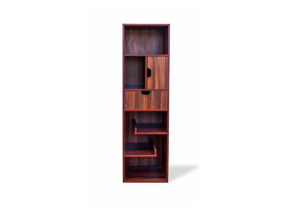 RentMacha | Nerdy Bookshelf Large Front View 1
