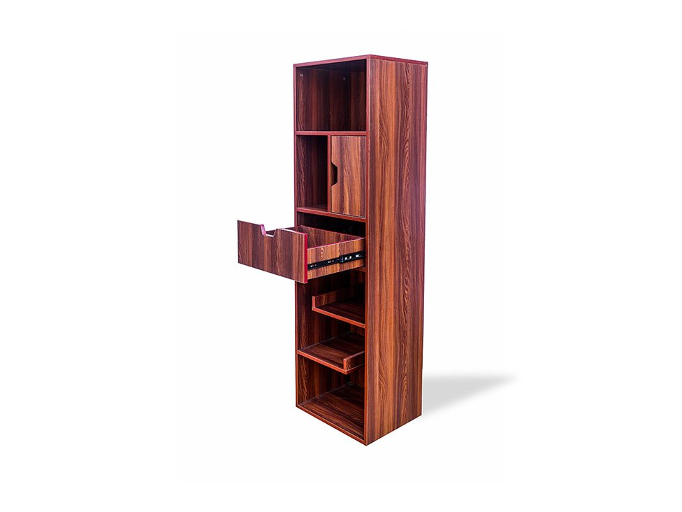 RentMacha | Nerdy Bookshelf Large Side View 2