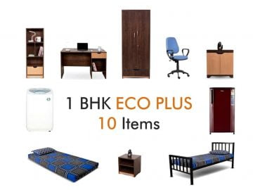 1 BHK Eco plus package on rent in mumbai at lowest Rentals RentMacha | main image