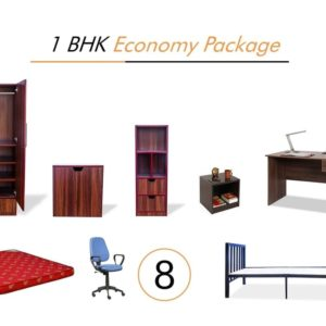 1 BHK Economy Package on Rent | Main Image
