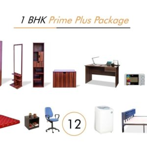 1 BHK Prime Plus Package Furniture on Rent | Main Image