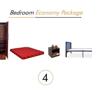 Bedroom Economy Package Furniture on Rent | Main Image