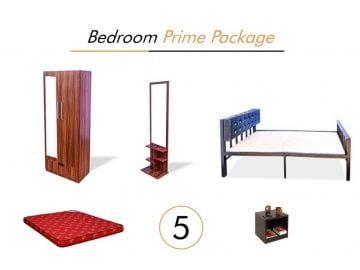 Bedroom Prime, Furniture on Rent | Main Image