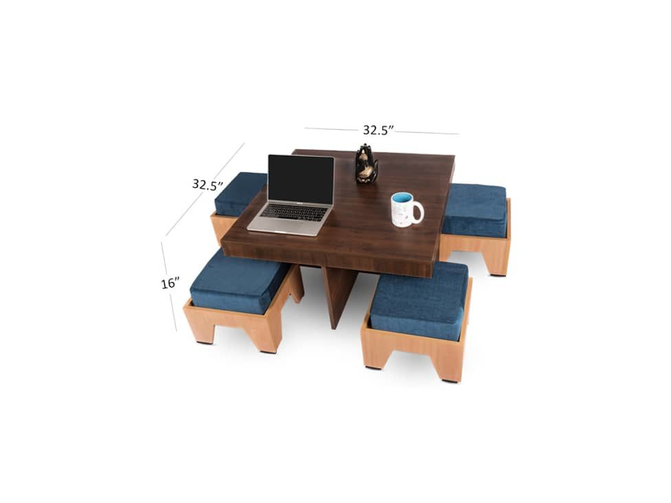 4-seater-coffee-table-on-rent-dimension-view-RentMacha