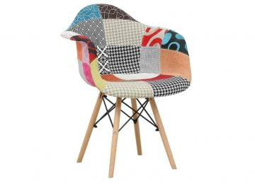 plush fabric chair on rent only at RentMacha