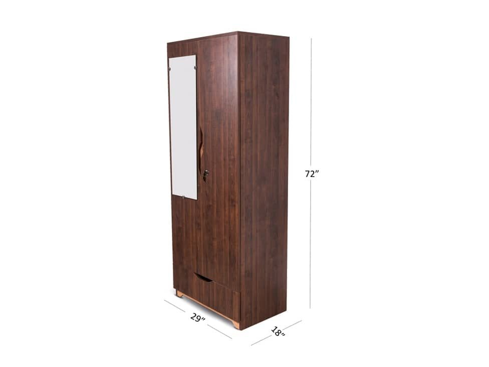 Premia_2_door_wardrobe_on_rent_Mumbai_Hyderabad_Chennai_at_Lowest_Rentals_RentMacha | Dimension View