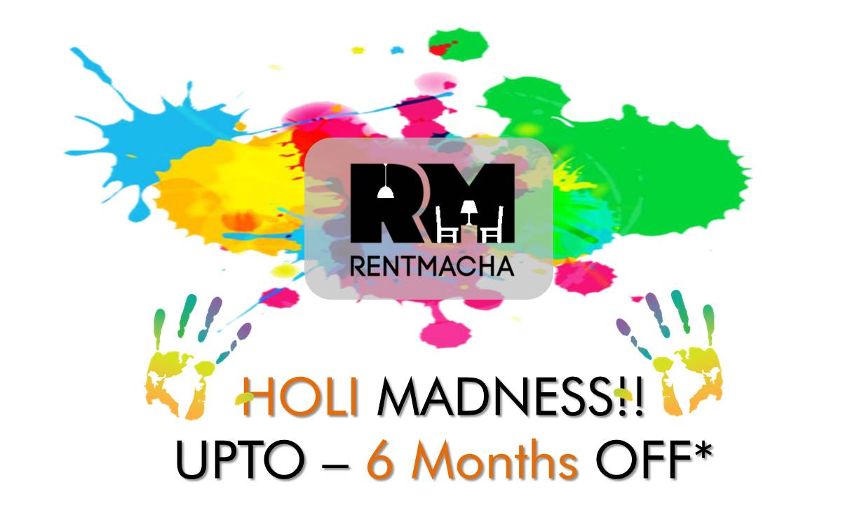 Holi Furniture on Rent Offer in Mumbai Hyderabad
